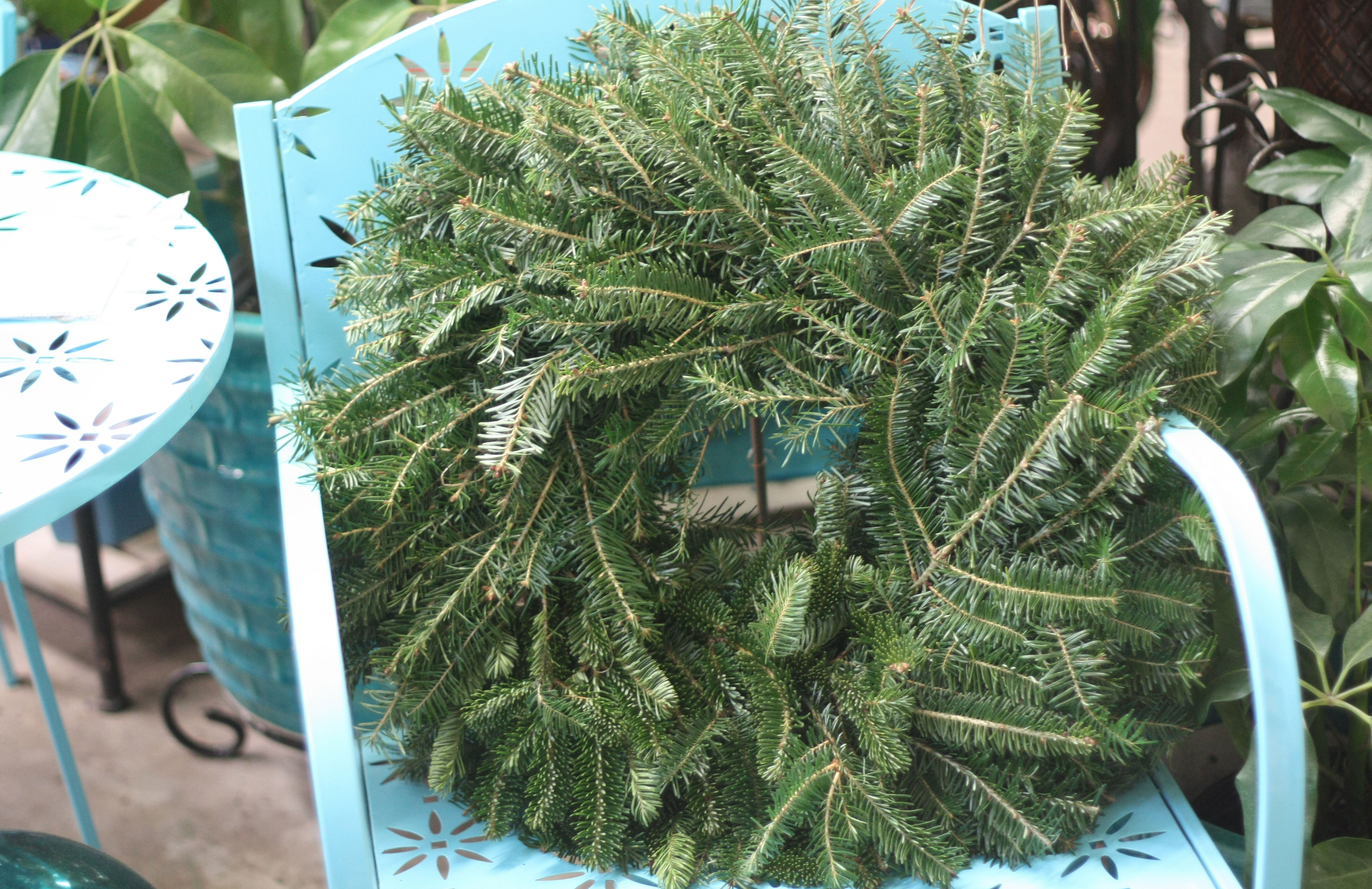 Frasier Fir Double-sided Wreath